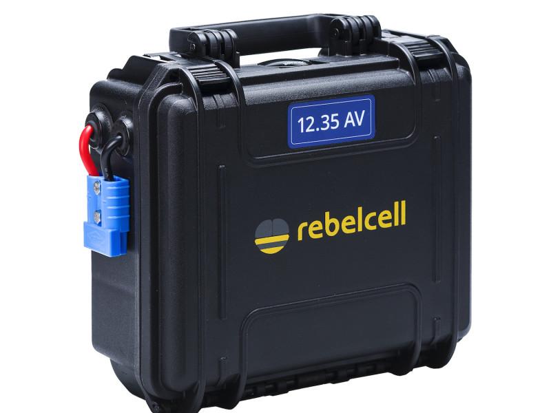 Rebelcell outdoorbox 12.35 AV lithium accu voor buitengebruik