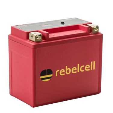 Rebelcell start lithium start accu voor buitenboordmotoren