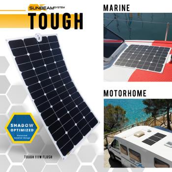 Sunbeam zonnepanelen flexibel en overloopbaar