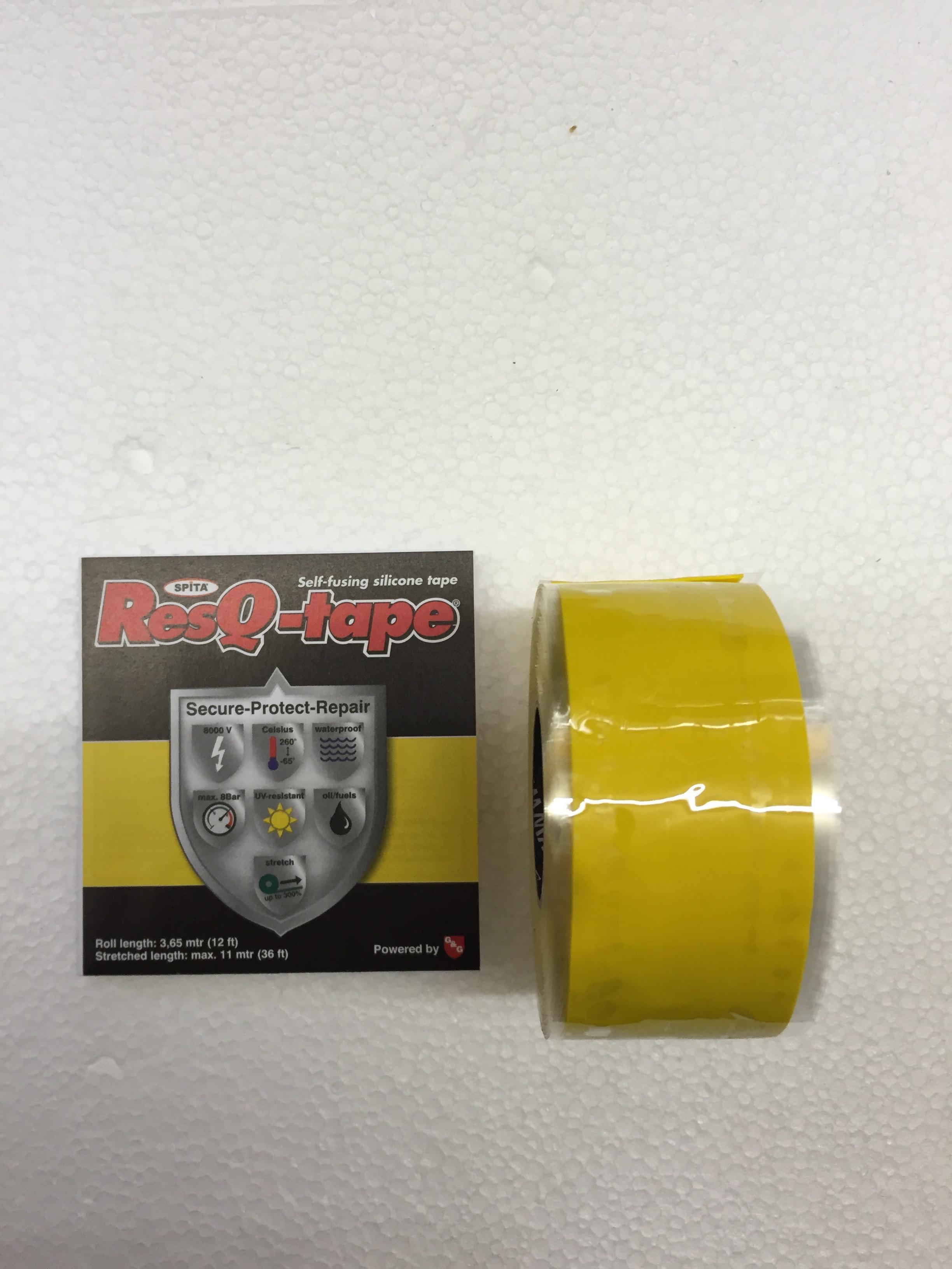 ResQ tape geel 2