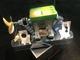 Elektrische binnenboord motor sloep