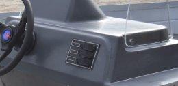 Raam stuurconsole | Motocraft aluminium visboot
