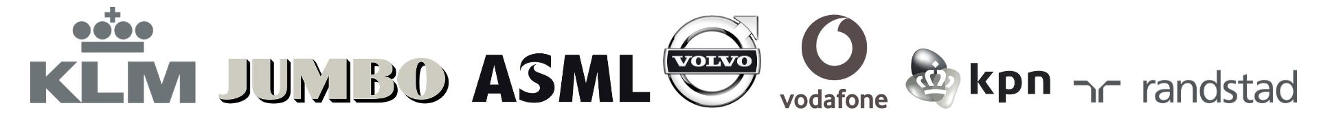Logo's, samenwerkingen, Albert Sonnevelt