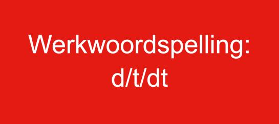 Werkwoorden opfrissen online training