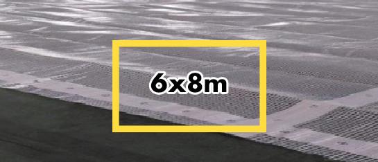 bouwzeil 6x8