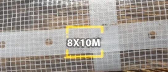 bouwzeil 8x10