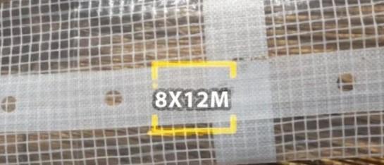 bouwzeil 8x12