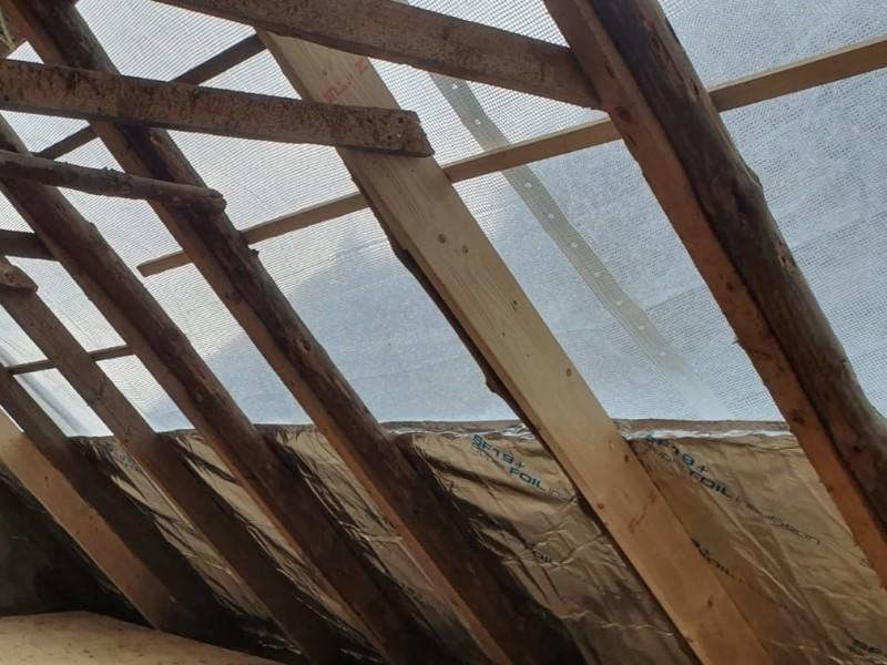 tijdelijk dak afdekzeil
