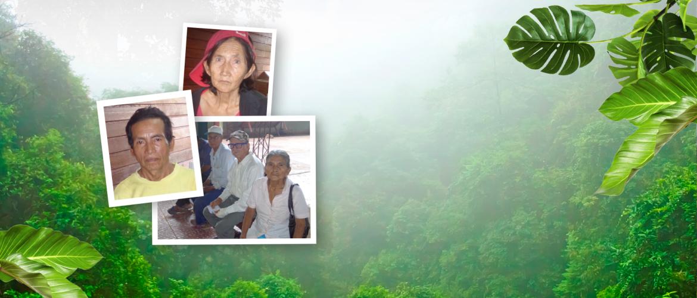 Zuster Nelsa van de Pro Vida kliniek in Riberalta helpt de ouden van dagen