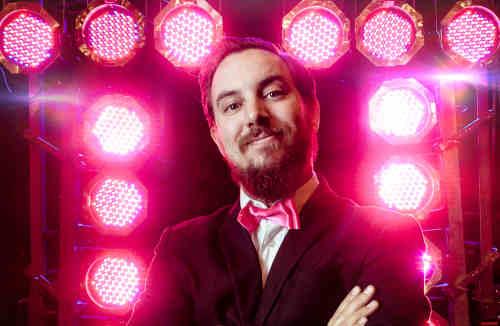 DJ Peter voor feest zoeken is demo avond van Ambitious bezoeken