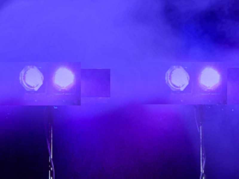 Betaalbare dj show zoeken is Basic DJ-Show boeken met 4 spots op 2 statieven