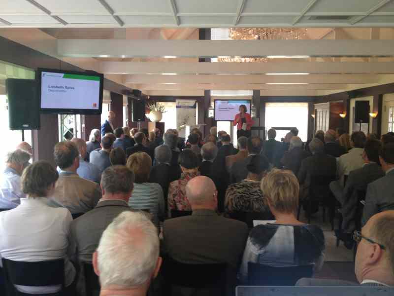 Techniek huren in Delft tijdens seminar in zaal 3 van De Schaapskooi voor Provincie Zuid-Holland