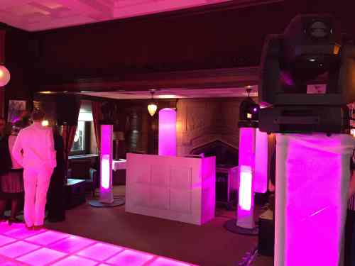 DJ huren of boeken in Amsterdam De Koninklijke Groote Industrieele Club voor bedrijfsfeest met exclusieve dj-show van Ambitious