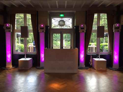 DJ huren in Baarn Kasteel De Hooge Vuursche voor bruiloft, verjaardag of bedrijfsfeest