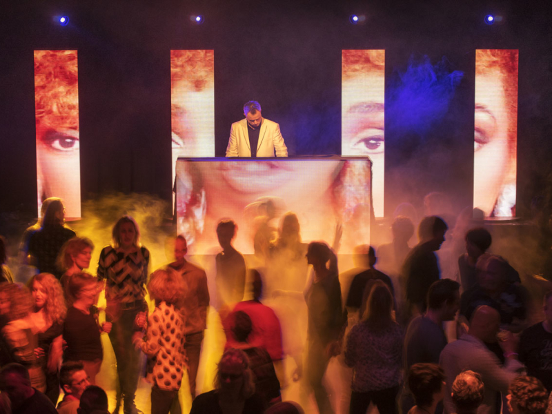 DJ in Bodegraven huren in het Evertshuis themafeest allround vj van Ambitious
