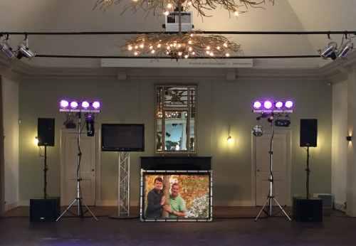 Banner DJ-Show huren voor bruiloft, bedrijfsevenement of verjaardag