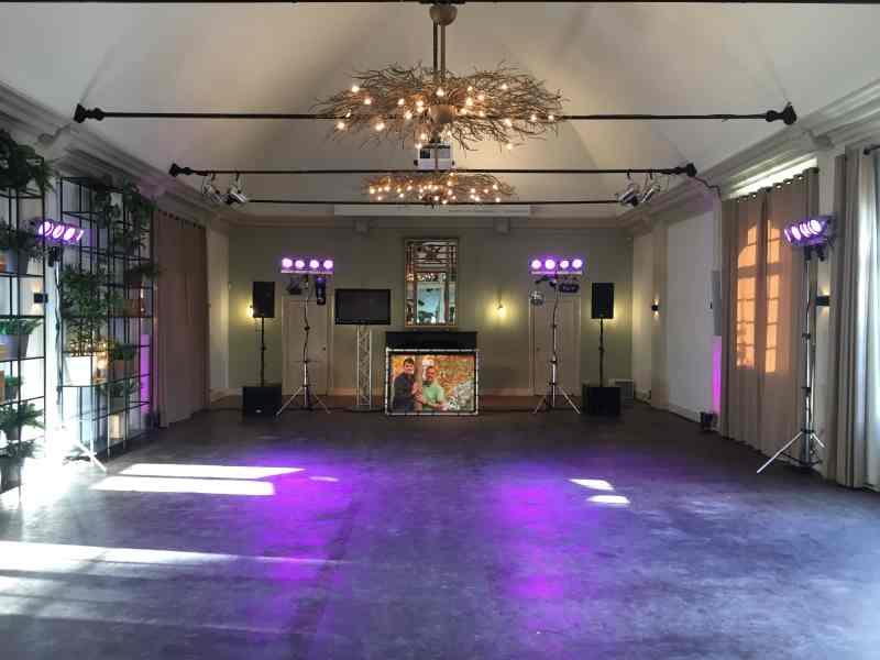 DJ in Buitenplaats Amerongen voor personeelsfeest met Ambitious