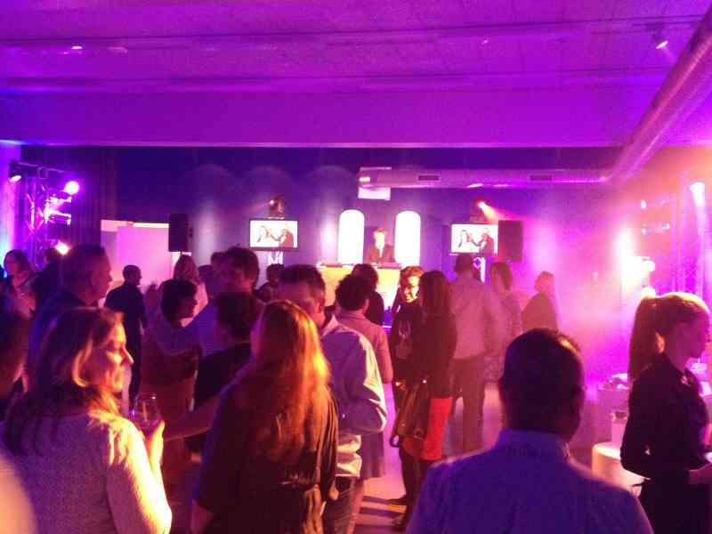 DJ boeken in Den Haag Fokker Terminal zakelijk evenement Reclassering