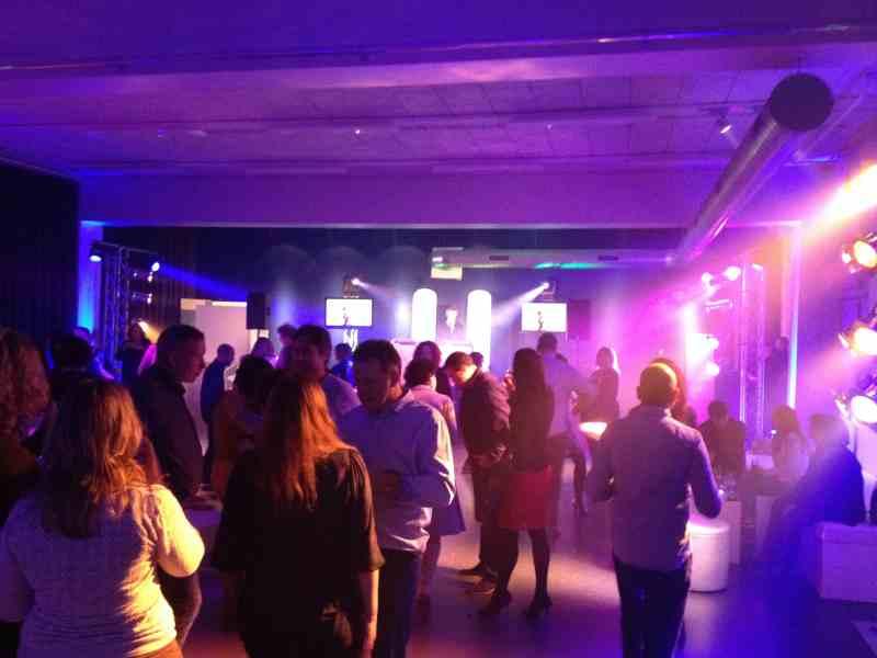 DJ inhuren Den Haag Fokker Terminal videodisco Reclassering