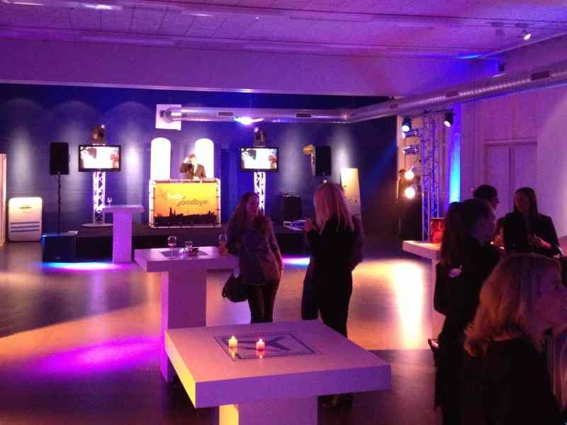 DJ boeken in Den Haag Fokker Terminal bedrijfsevenement Reclassering