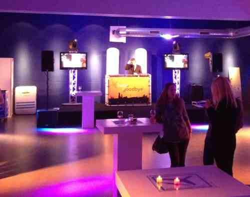 DJ Den Haag Fokker Terminal personeelsfeest DJ Johan Post en DJ-Show van Ambitious