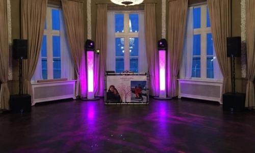 DJ huren in Den Haag Scheveningen Paviljoen De Witte met show van Ambitious