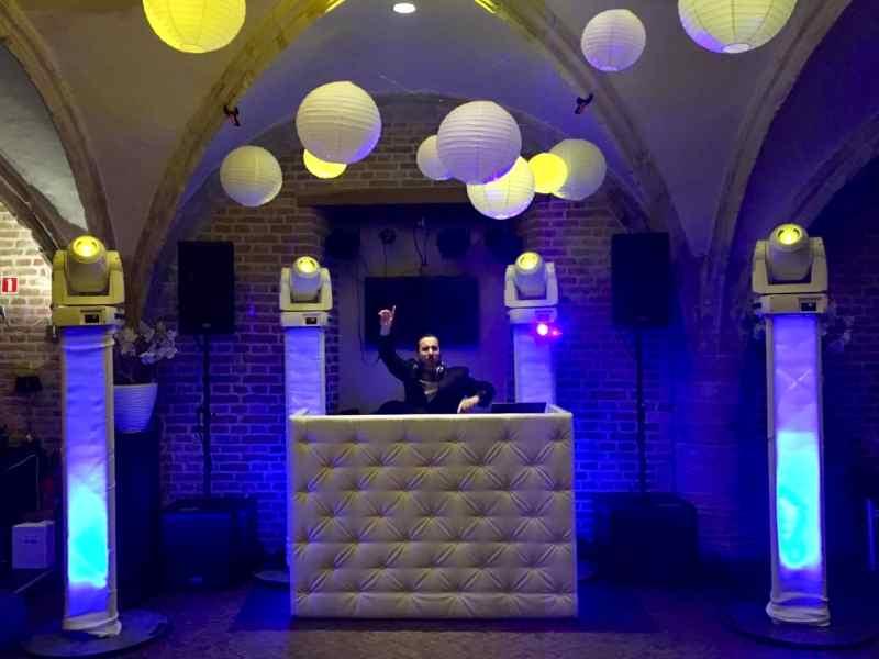DJ Peter huren of boeken voor bruiloft in De Raedtskelder te Dordrecht