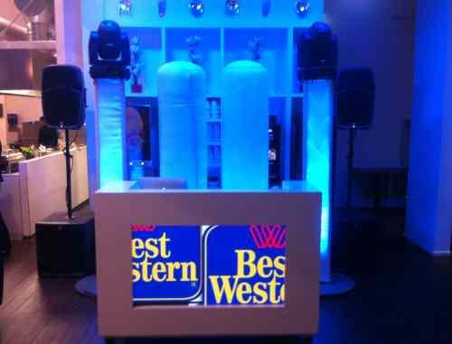 DJ huren in Gouda Best Western Hotel bedrijfsevenement