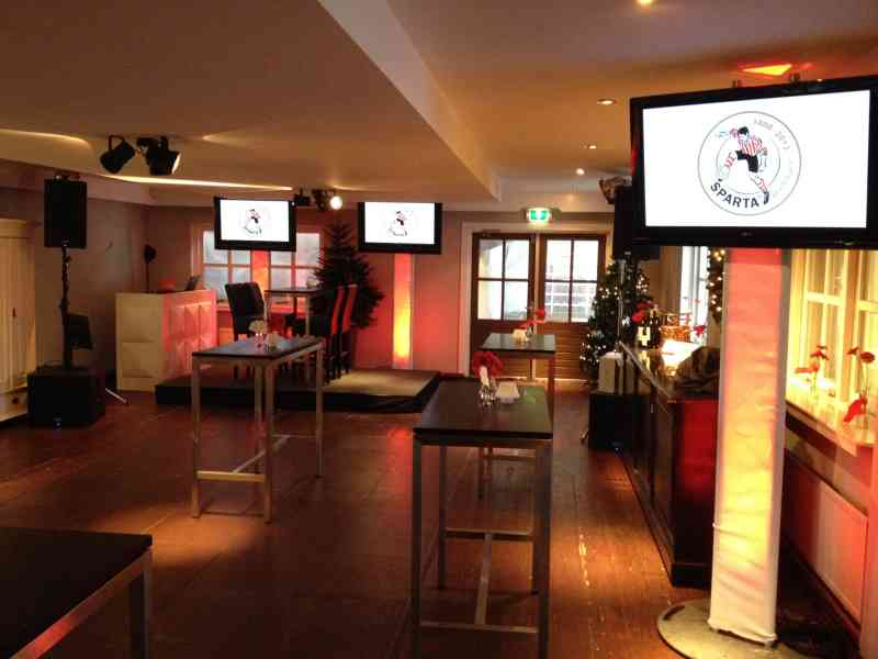 DJ in Gouda huren in Brasserie IJsselweide bedrijfsevenement Sparta