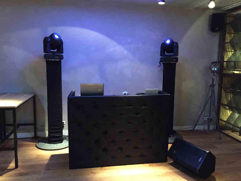 Black dj-show huren in LF Gouda bedrijfsfeest met dj van Ambitious