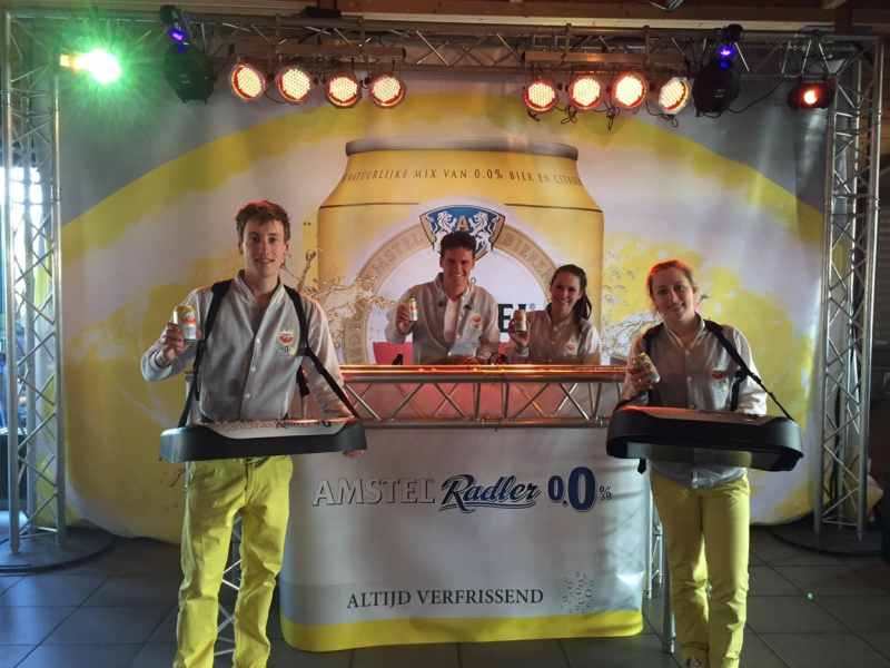 Allround DJ Marten boeken voor tour met Amstel Radler Roadshow