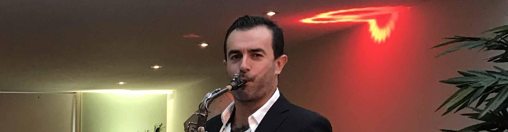 Saxofonist Rafaël huren voor exclusieve bruiloft