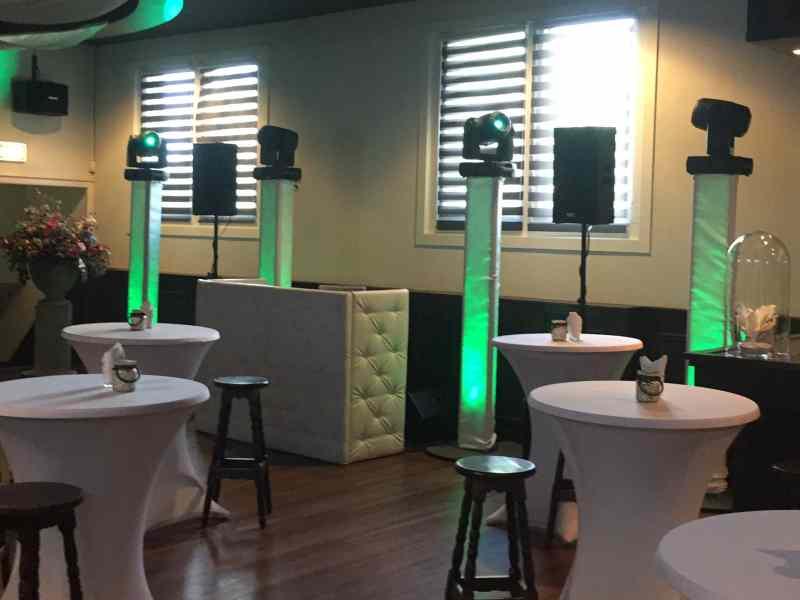 Bruiloft DJ in Reeuwijk Gasterij Vergeer Amicitia inhuren dj van Ambitious boeken of huren