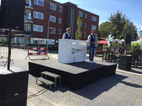 DJ in Reeuwijk boeken voor heropening Winkelcentrum Westplein met Sax Up The DJ