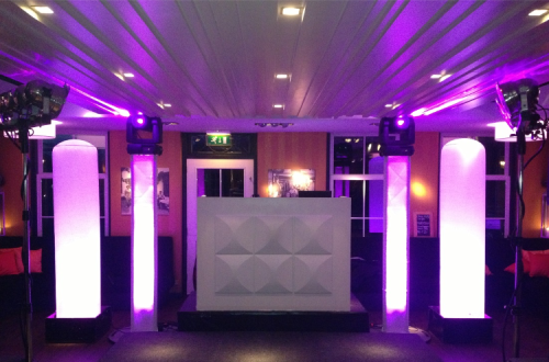 DJ in Reeuwijk huren bij Restaurant 't Vaantje exclusieve bruiloft met dj-show van Ambitious boeken