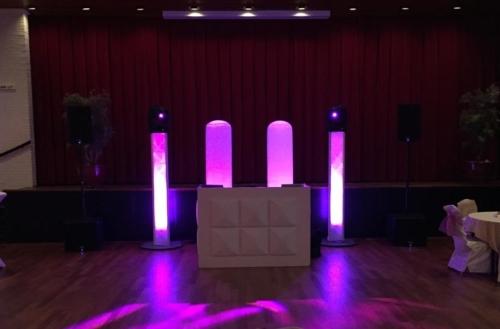 DJ in Reeuwijk huren in Zalencentrum De Brug bruiloft met dj-show Ambitious boeken
