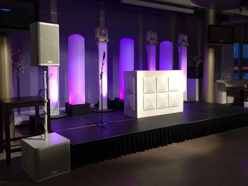 DJ Rotterdam Stadion De Kuip Ernst Happel Zaal personeelsfeest White Exclusive DJ-Show van Ambitious boeken