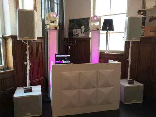 DJ huren in Rotterdam Het Koetshuis bruiloft met Ambitious White Exclusive DJ-Show boeken