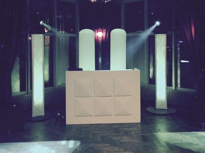 DJ in Rotterdam huren voor optreden in het Zalmhuis de Rooftop Room personeelsfeest met dj-show van Ambitious