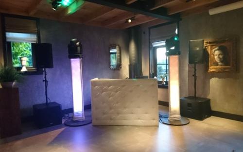 DJ huren of boeken in Utrecht Boerderij Mereveld personeelsfeest met dj-show van Ambitious