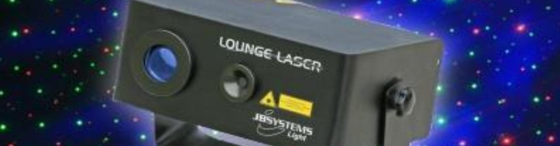 Lounge Laser boeken als special effect