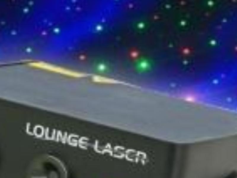 Lounge Laser boeken als special effect voor bedrijfsfeest