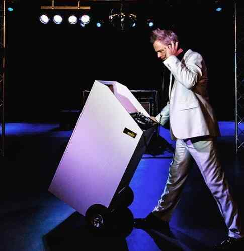 Mobiele DJ boeken casual of stijlvol op de voorgrond of achtergrond