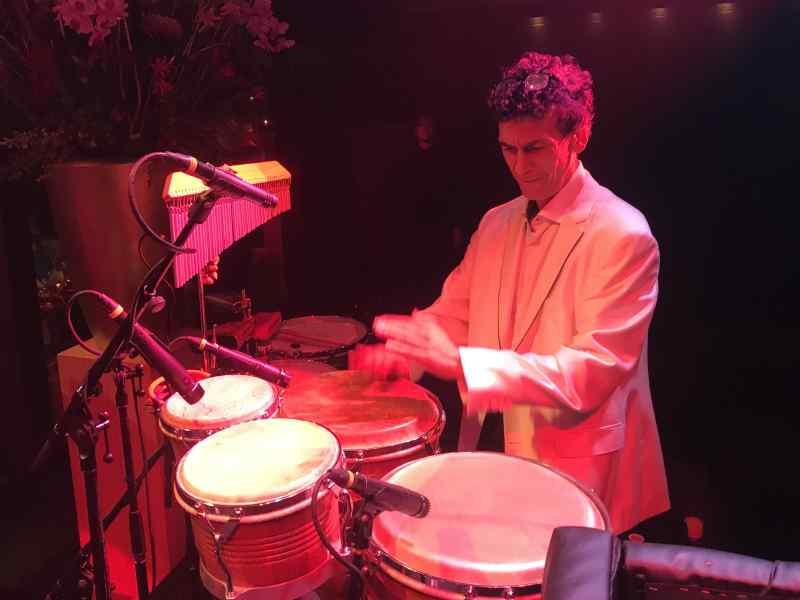 Percussionist Martin boeken voor 50e verjaardagsfeest