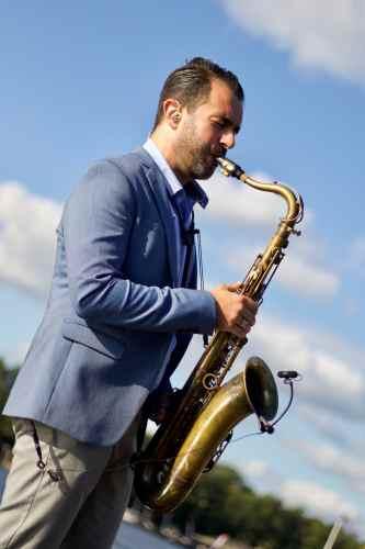 Saxofonist Rafaël huren veelzijdig, flexibel en spontaan