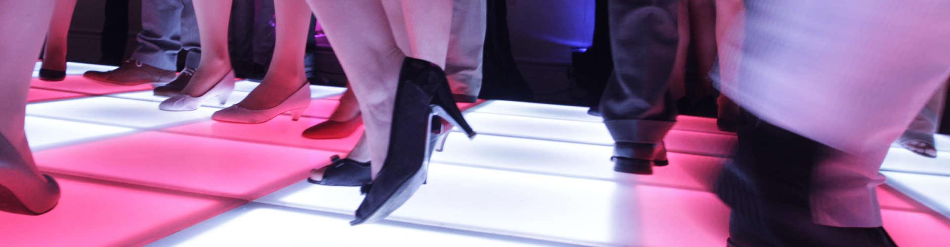 Verlichte dansvloer boeken als upgrade voor je feest of event