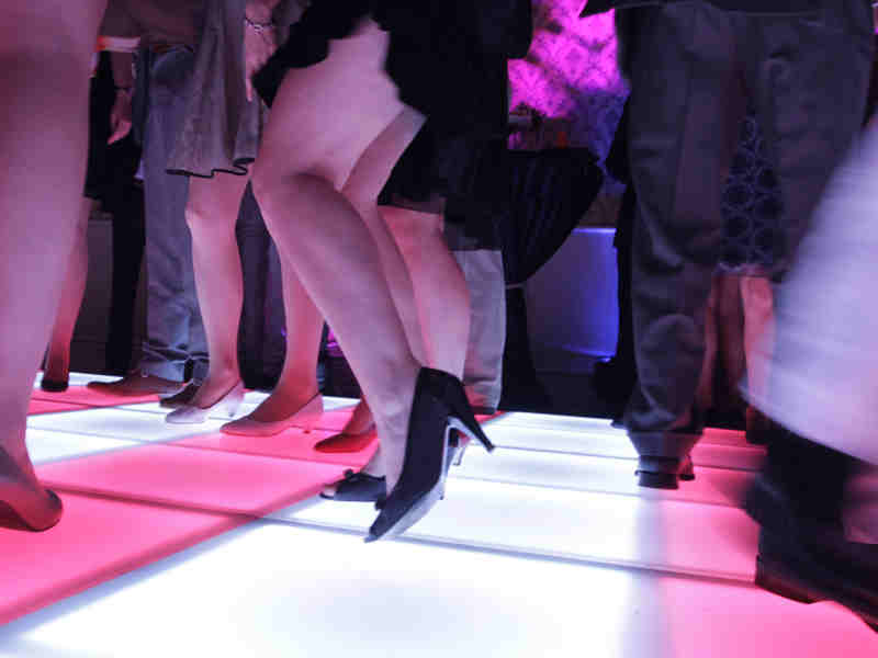 Verlichte dansvloer huren in vele soorten en maten