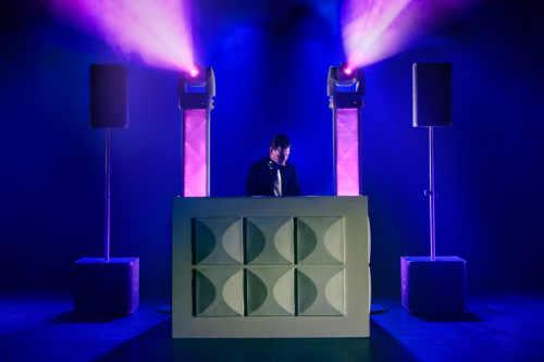 Witte Exclusieve DJ-Show huren