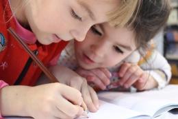 Kinderen leren