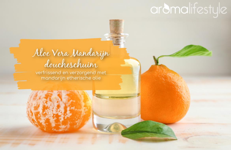 aloe vera mandarijn doucheschuim